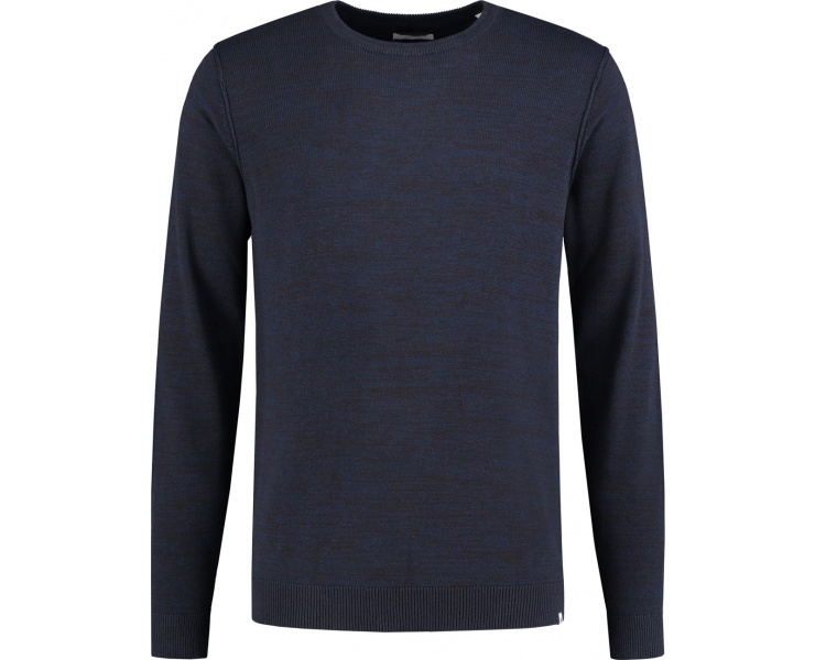СВИТЕР DSTREZZED CREW NECK EARTH KNIT NAVY фото 1