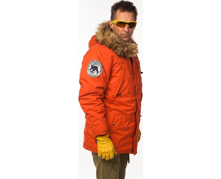 КУРТКА ALPHA INDUSTRIES 123144 POLAR JACKET - RED фото 6