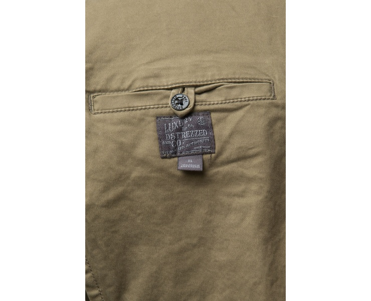 ПИДЖАК DSTREZZED WORKER BLAZER STRETCH TWILL ARMY GREEN фото 2