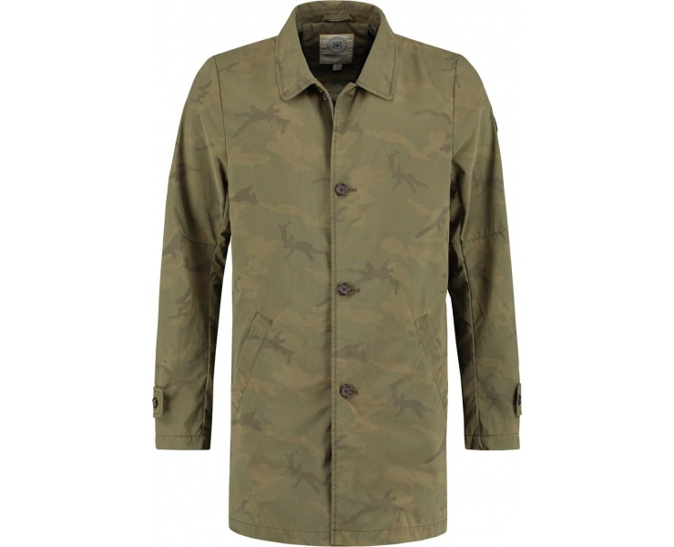 ПАЛЬТО DSTREZZED TRENCHCOAT ARMY GREEN фото 1