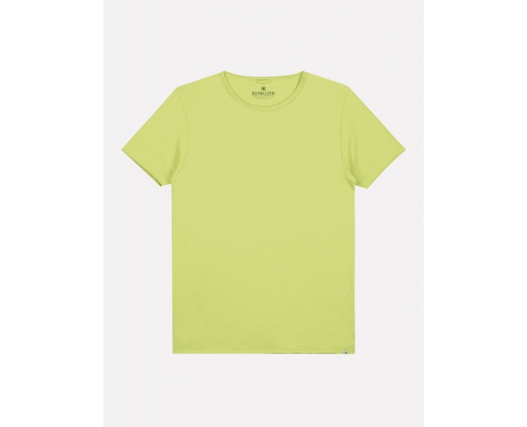 ФУТБОЛКА DSTREZZED MC. QUEEN BASIC TEE SLUB JERSEY LIME фото 1