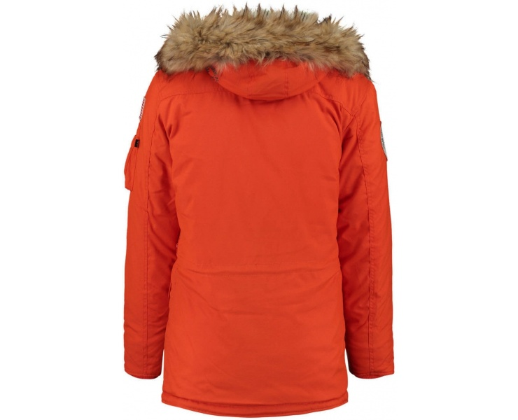 КУРТКА ALPHA INDUSTRIES 123144 POLAR JACKET - RED фото 2