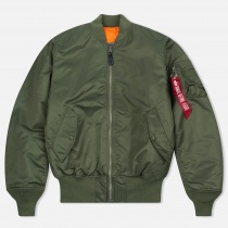 КУРТКА ALPHA INDUSTRIES 100101 MA-1 SAGE- GREEN