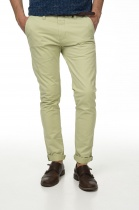 БРЮКИ DSTREZZED CHINO PANTS BELT STRETCH TWILL PALE GREEN