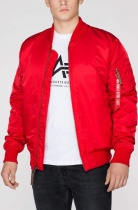 Куртка ALPHA Industries 168100 MA-1 VF 59 Long speed red