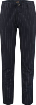 БРЮКИ DSTREZZED CHINO PANTS HERRINGBONE STRIPE DK.NAVY