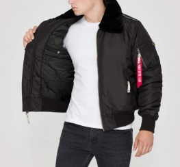 Куртка ALPHA Industries 143104 injector lll Black