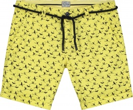 ШОРТЫ DSTREZZED CHINO SHORTS BELT FLAMINGO FINE TWILL YELLOW