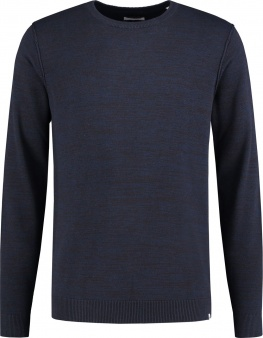 СВИТЕР DSTREZZED CREW NECK EARTH KNIT NAVY