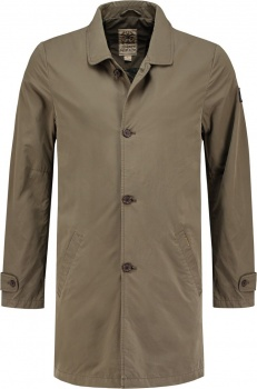 ПАЛЬТО DSTREZZED TRENCHCOAT MICRO NYLON BROWN