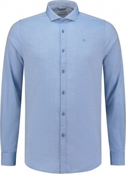 РУБАШКА DSTREZZED SHIRT TRIANGLE JAQUARD LT.BLUE