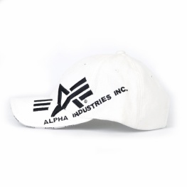 Кепка Alpha industries white