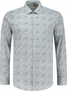РУБАШКА DSTREZZED MINI PAISLEY LT. STR. POPLIN POWDER BLUE