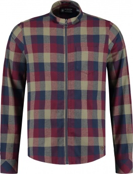 РУБАШКА DSTREZZED BLOCK CHECK FLANNEL PORT RED