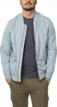 БОМБЕР DSTREZZED BOMBER JACKET MICRO NYLON STEEL BLUE