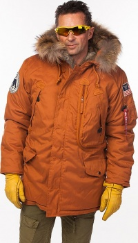 КУРТКА ALPHA INDUSTRIES 123145 POLAR JACKET RF - ORANGE