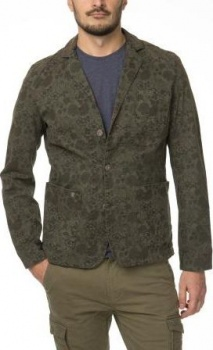 ПИДЖАК DSTREZZED WORKER BLAZER STR. TWILL ORIENT FL. ARMY GREEN