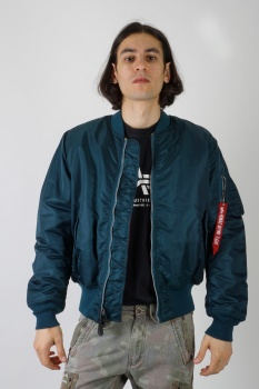КУРТКА ALPHA INDUSTRIES 100101 MA-1 NAVY