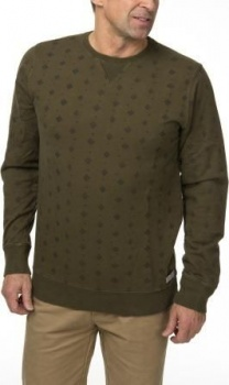 ТОЛСТОВКА DSTREZZED TRIANGLE DOT PRINT CLEAN SWEAT ARMY GREEN