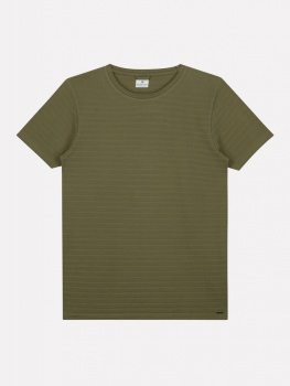 ФУТБОЛКА DSTREZZED CREW S/S HONEYCOMB STRETCH JERSEY ARMY GREEN
