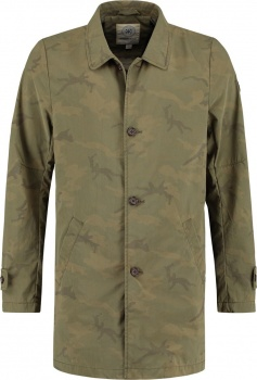 ПАЛЬТО DSTREZZED TRENCHCOAT ARMY GREEN