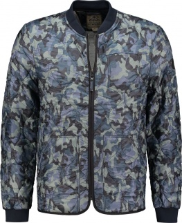 БОМБЕР DSTREZZED BOMBER CAMO DENSE NYLON ROYAL BLUE