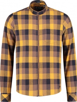 РУБАШКА DSTREZZED BLOCK CHECK FLANNEL YELLOW